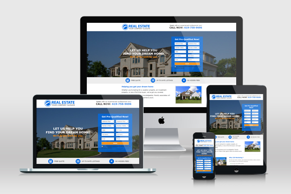 landing pages for real estate